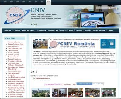 CNIV 2010 - website