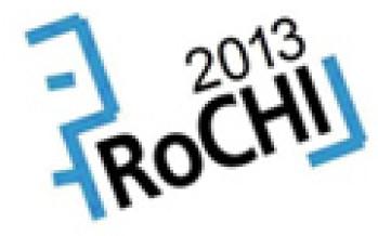 CfP: Conferinţa Naţională de Interacţiune Om-Calculator RoCHI 2013