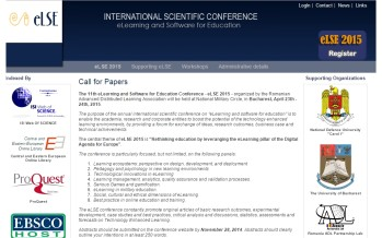 eLSE 2015 – Call for Papers – extended deadlines