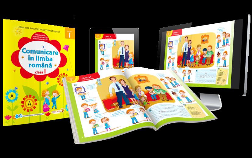 Abecedarul digital propus de Ascendia Design și Editura Didactică și Pedagogică