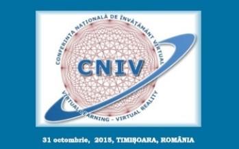 """Tehnologii, proiecte și inovare în educație la ediția a XIII-a CNIV """"Noi tehnologii în educație și cercetare"""""""