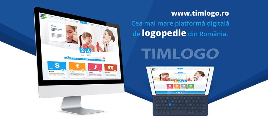 Descoperă cea mai mare platformă digitală de logopedie din România – TIMLOGO