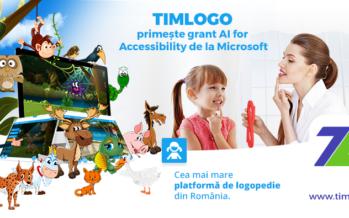 TIMLOGO.ro primește grant AI for Accessibility de la Microsoft