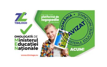 Timlogo este acum omologată de Ministerul Educației Naționale