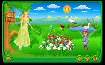 Software educaţional pentru copii: colecţia EduTeca, seria Anotimpurile, CD 5 – Natura se trezeşte la viaţă