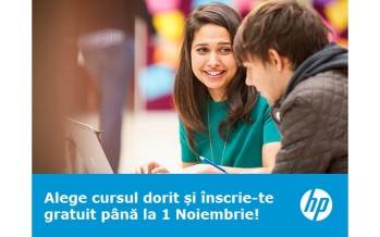 HP oferă cursuri gratuite și certificate în Finanțe, Marketing, Operațiuni, Comunicare