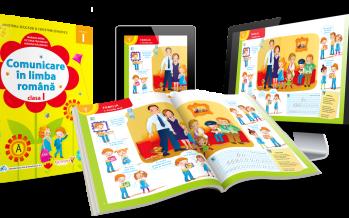 Manual digital: Comunicare în limba română – Clasa I
