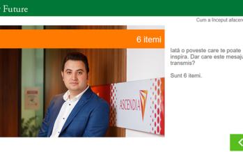 Cosmin Mălureanu face parte dintre antreprenorii din programul educațional Junior Achievement – Este afacerea mea!